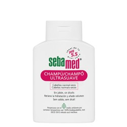 Sebamed champú ultrasuave cabellos normales/ secos 200 ml