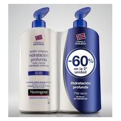 Neutrogena duplo loción corporal piel seca segunda unidad 60 % DTO