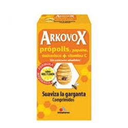 Arkovox própolis 24 comprimidos para chupar sabor miel-limón