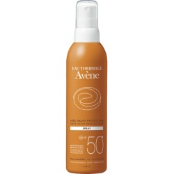 Avene spray solar SPF 50 + 200 ml