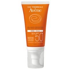 Avene solar facial SPF 50 + piel seca 50 ml