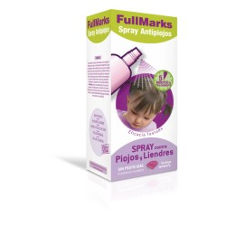 FullMarks spray antipiojos y liendres 150 ml + lendrera