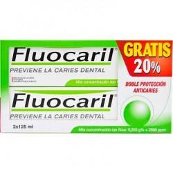 Fluocaril bi-fluoré pasta dentífrica 2x125 ml