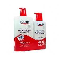 Eucerin pH5 Skin-Protection loción corporal  1000 ml + 400 ml