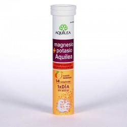 Aquilea Magnesio + Potasio 14comp efervescentes