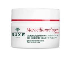 Nuxe Crema hidratante antiarrugas Merveillance® Expert  Enriquecida- Piel seca 50ml