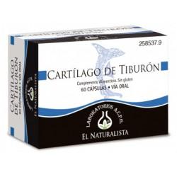 El Naturalista CARTÍLAGO DE TIBURÓN 60cáps