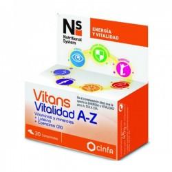 CINFA Ns Vitans Vitalidad A-Z 30comp