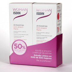 Woman Isdin Crema Antiestrías 250 ml Pack Duplo